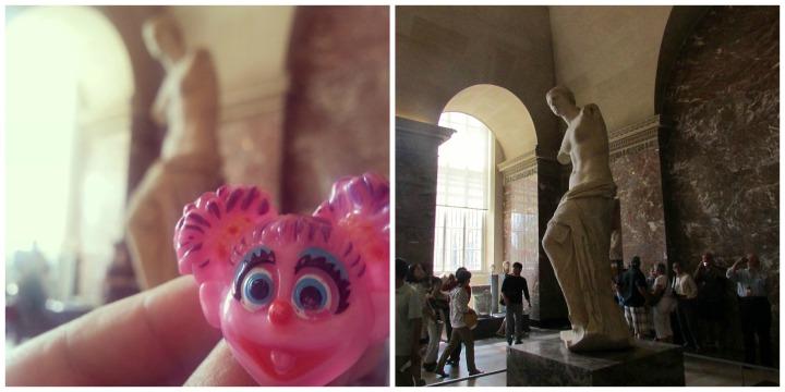 Venus di Milo statue in the Louvre