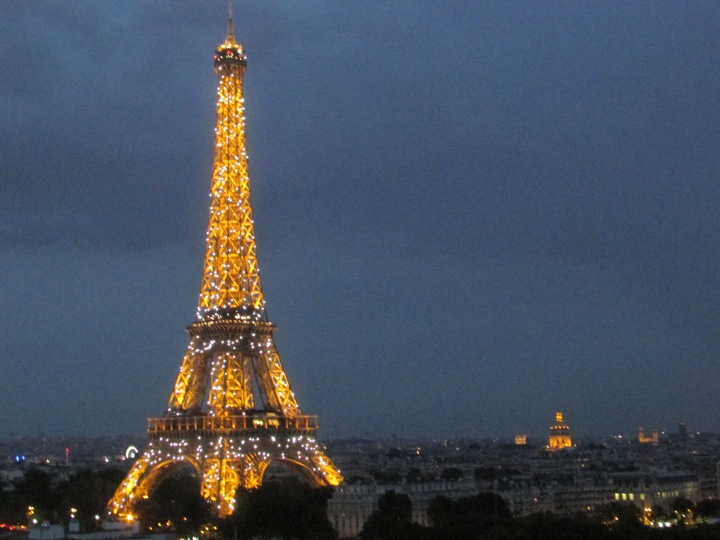 The Eiffel Tower, Paris, France - July 2014