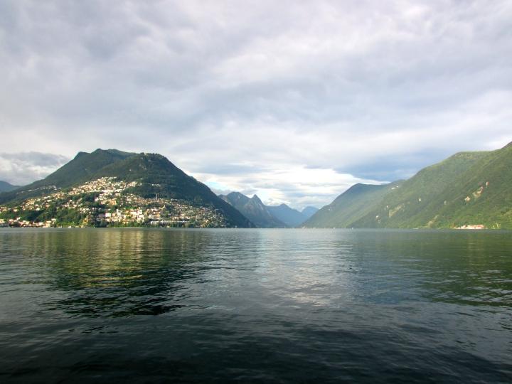 Paradiso, Lugano, Switzerland- August 2014