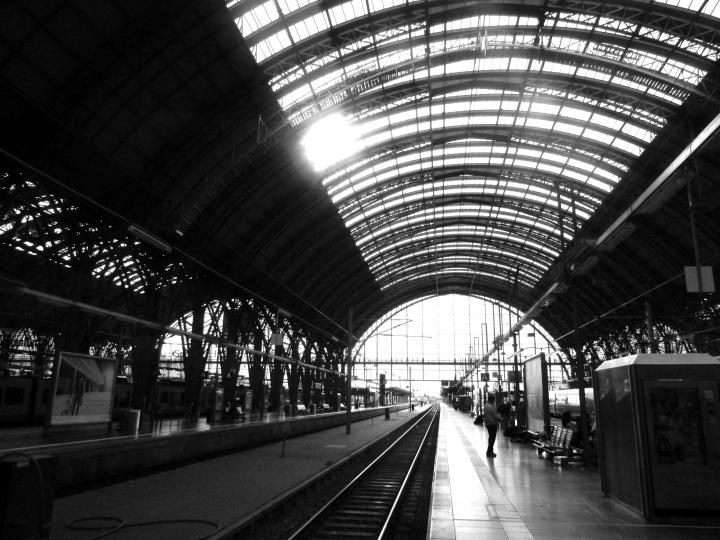 Frankfurt Hauptbahnhof, Frankfurt, Germany- September 2014