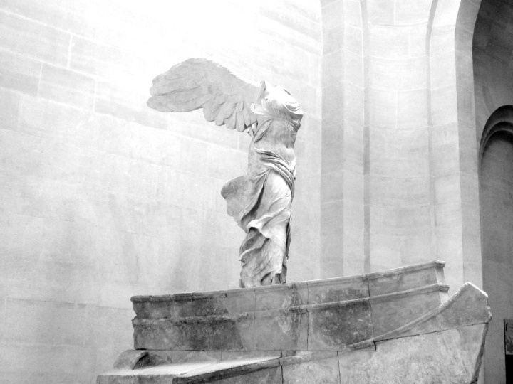 Winged Victory of Samothrace- The Louvre, Paris, France (July 2014)