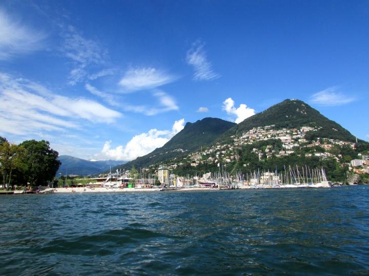 Lago di Lugano- Paridiso, Lugano, Switzerland (July 2014)