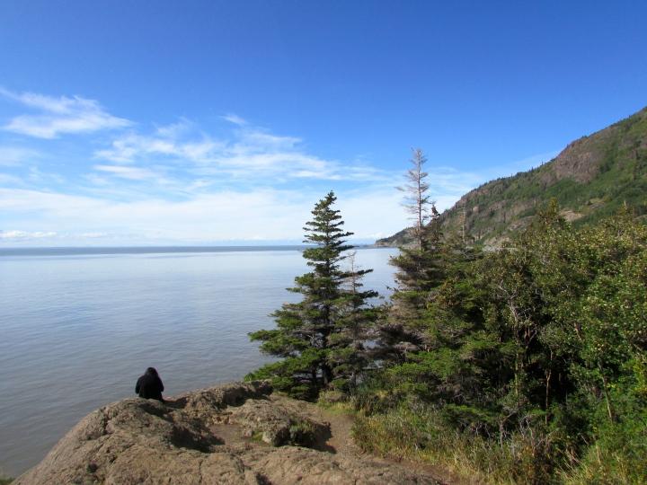 Beluga Point, Alaska - August 2014