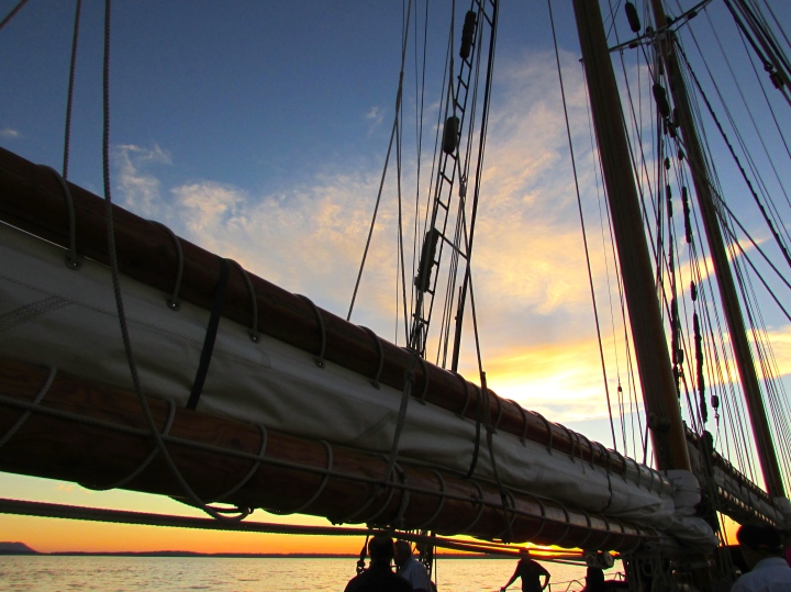 Schooner Zodiac in in Bellingham, Washington - June 2015