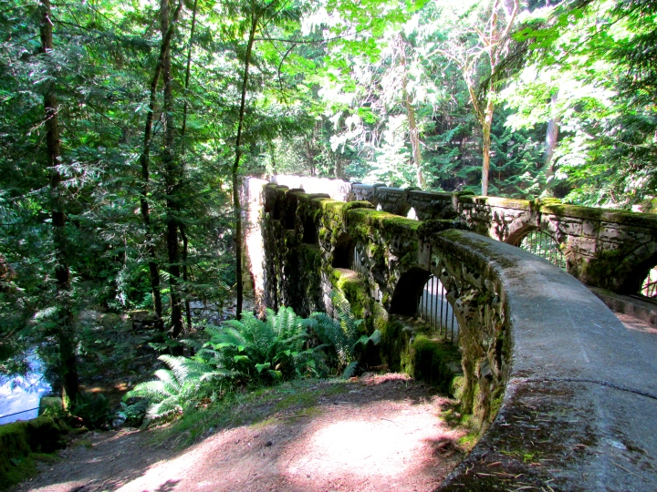 Whatcom Falls National Park in Bellingham, Washington - June 2015